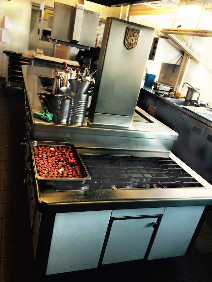 Fourneau CDI installé au restaurant Le Floris