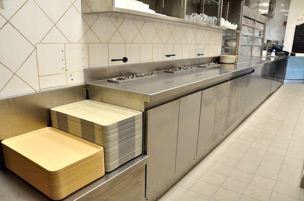 Installation - cafétéria du personnelle - Hotel Mandarin Oriental