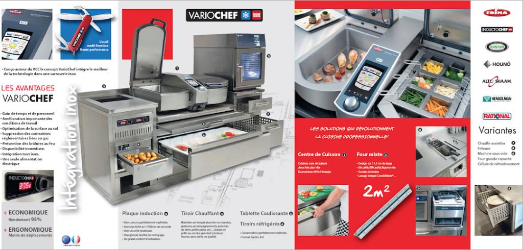 Variochef | Meinen Cuisines Professionnelles SA, Genève